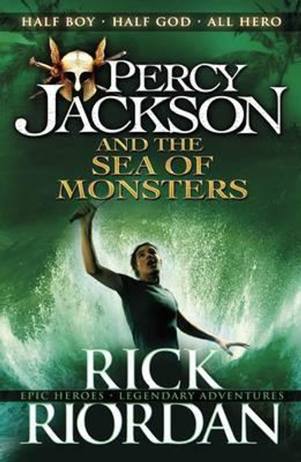 Riordan, Rick - The Sea of Monsters  ( Percy Jackson and the Olympians- Book 2 )  - PB - BRAND NEW