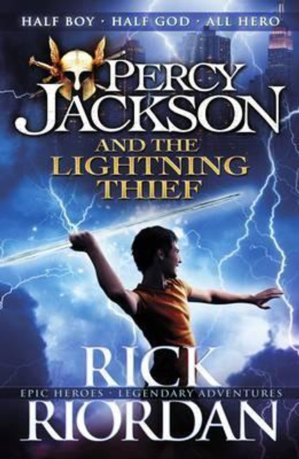 Riordan, Rick - Percy Jackson and the Lightning Thief  ( Percy Jackson Series - Book 1 )- PB - BRAND NEW