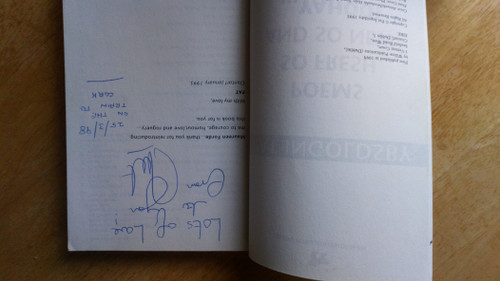 Ingoldsby , Pat - Poems so Fresh and so New.. Yahoo! - SIGNED PB 1995