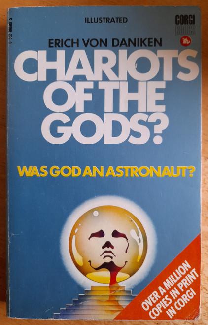 Von Daniken, Erich - Chariots of the Gods? - Vintage Corgi PB -1973