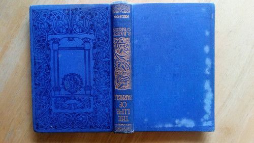 O'Brien, R Barry - The Life of Charles Stewart Parnell - HB Nelson Edition - 1910 ( Signed by Michael Molloy , Carlow MP )
