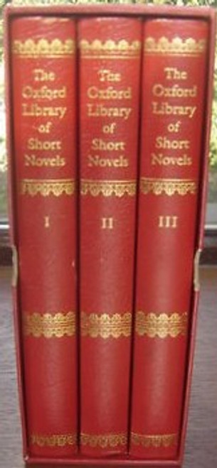 Wain John ( Editor) - The Oxford Library of Short Novels - HB 3 - Volume Set Slipcased