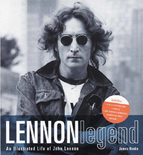 Henke, James - Lennon Legend - An Illustrated Life of John Lennon - HB Slipcased SEALED - BRAND NEW