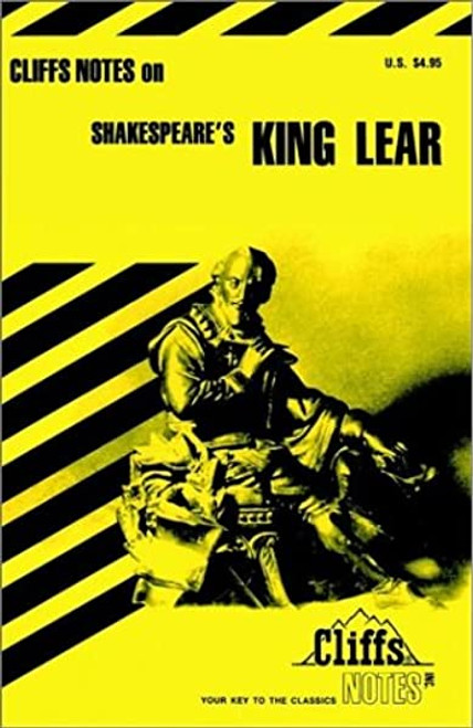 Cliff Notes - Shakespeare's King Lear - PB - Study Guide