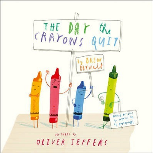 Daywalt, Drew / The Day the Crayons Quit (Children's Picture Book)