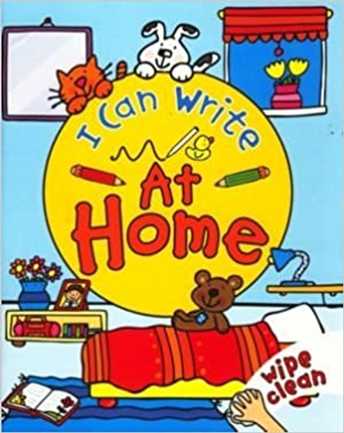I Can Write at Home (Children's Picture Book)