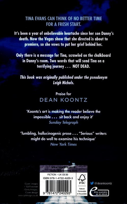 Koontz, Dean - The Eyes of Darkness - PB - BRAND NEW - 2020 Reprint ( Originally 1981)