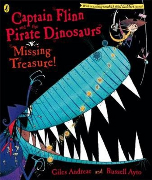 Andreae, Giles / Captain Flinn and the Pirate Dinosaurs: Missing Treasure! (Children's Picture Book)