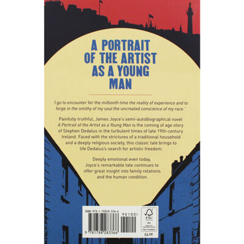 Joyce, James - A Portrait of the Artist as a Young Man - PB - BRAND NEW - Arcturus Press Edition