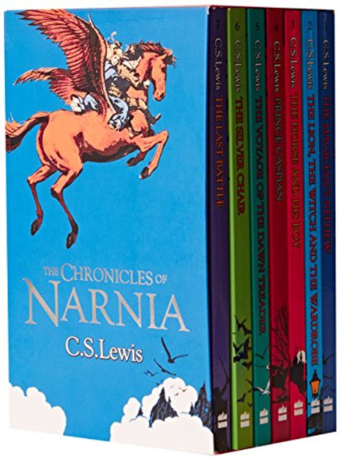 Lewis , C.S - The Chronicles of Narnia (7 Book Box Set) - BRAND NEW & SEALED -PB GIFT SET