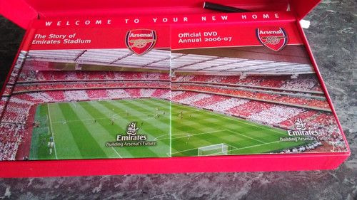 Arsenal FC - The Arsenal Official Membership Pack - 2 Book & DVD - Season 2006-07 - Premiership - Emirates