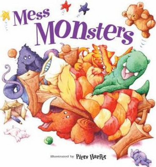 Shoshan, Beth / Mess Monsters (Children's Picture Book)