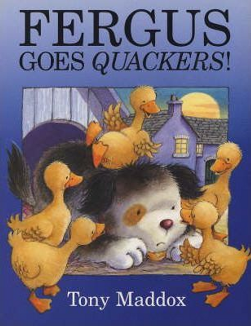 Maddox, Tony / Fergus Goes Quackers! (Children's Picture Book)