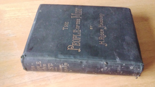 Haggard, H Rider - The People of the Mist - HB 1st Edition 1894 - Lost Race
