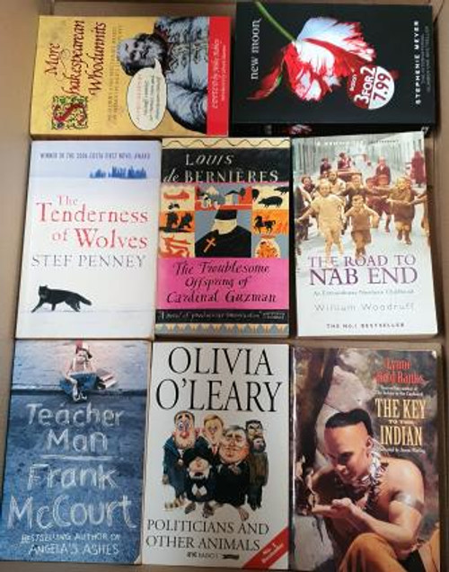 100 B Format (Mainly Fiction) Books