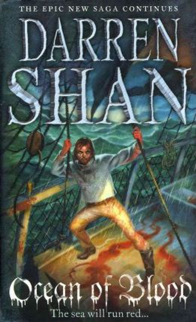 Shan, Darren / Ocean of Blood (Large Paperback) ( Saga of Larten Crepsley- Book 2 )