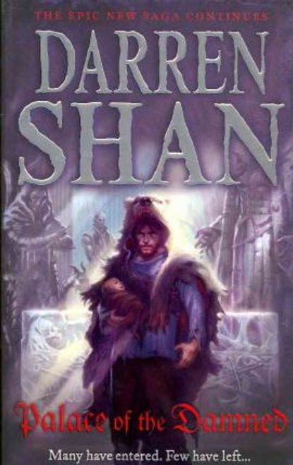 Shan, Darren / Palace of the Damned (Large Paperback) ( Saga of Larten Crepsley - Book 3 )