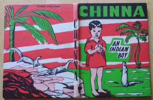 Monahan, Margaret - Chinna : An Indian Boy - HB ( Illustrated by Mabel Peacock) 1950