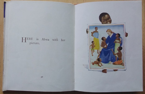 Martin, Nancy Abwa and Her Picture : A Story of Africa - illustrated by Ingall - HB 1950