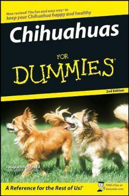 O'Neil, Jacqueline / Chihuahuas For Dummies (Large Paperback)