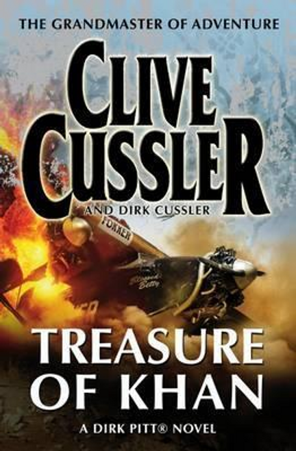 Cussler, Clive / Treasure of Khan : Dirk Pitt #19 (Large Paperback)
