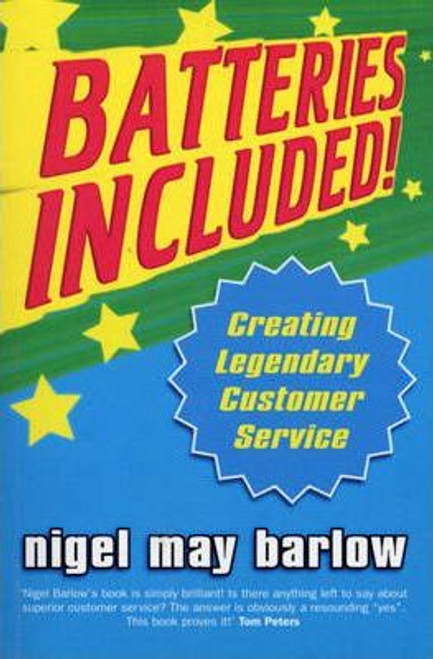 Barlow, Nigel / Batteries Included! (Large Paperback)