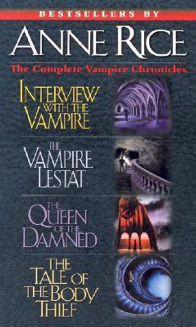 Anne Rice Vampire Chronicles: 4 in 1 (Complete 4 Book Box Set)