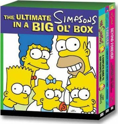 The Ultimate Simpsons in a Big Ol' Box (Complete 3 Book Box Set) Large Books