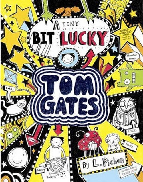 Pichon, Liz / A Tiny Bit Lucky (Large Paperback) ( Tom Gates Series - Book 7 )