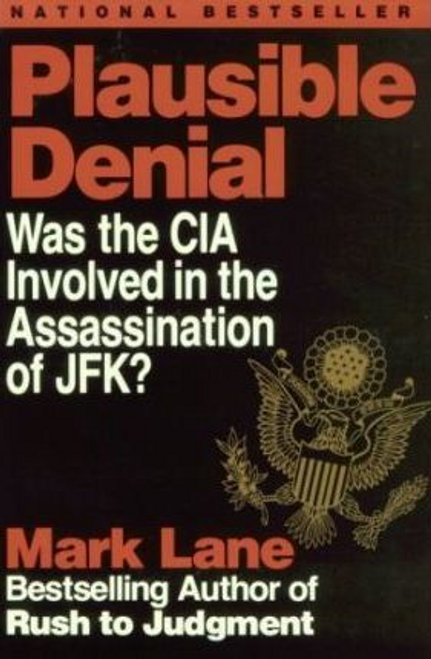 Lane, Mark / Plausible Denial (Large Paperback)