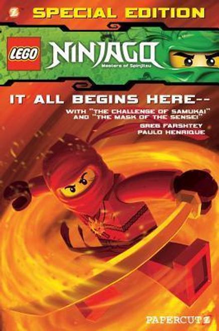 Farshtey, Greg / Lego Ninjago Special Edition #1 (Large Paperback)