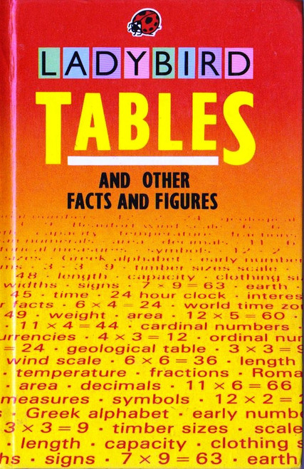 Ladybird / Tables and other Facts and Figures