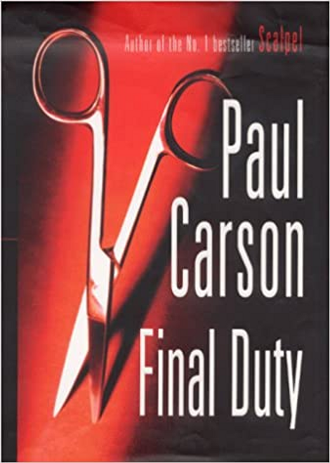 Carson, Paul / Final Duty (Hardback)
