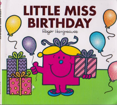 Mr Men and Little Miss, Little Miss Birthday