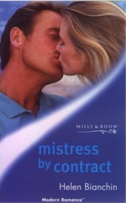 Mills & Boon / Modern / Mistress by Contract