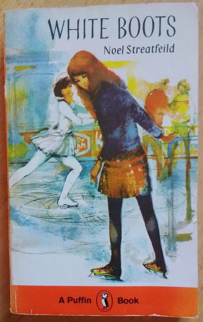 Streatfeild, Noel - White Boots - Vintage Puffin PB - 1981 Edition ( Originally 1951 )