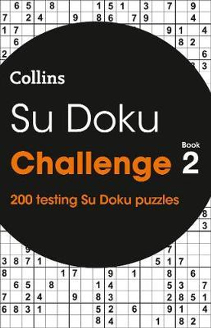 Collins SUDOKU Challenge - Book 2 - BRAND NEW - PB