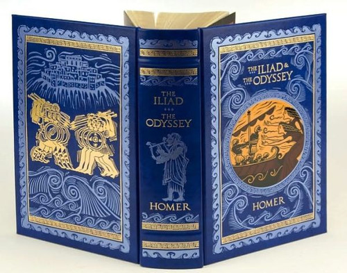Homer - The Iliad & The Odyssey - HB - Gift Edition - Barnes & Noble US - Translated by Samuel Butler