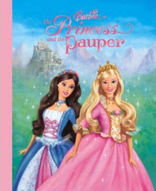 Man-Kong, Mary / Barbie as the Princess and the Pauper (Children's Picture Book)