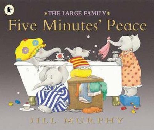 Jill, Murphy / Five Minutes Peace (Children's Picture Book)