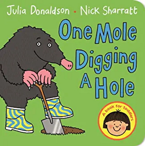Donaldson, Julia / One Mole Digging A Hole (Children's Picture Book)