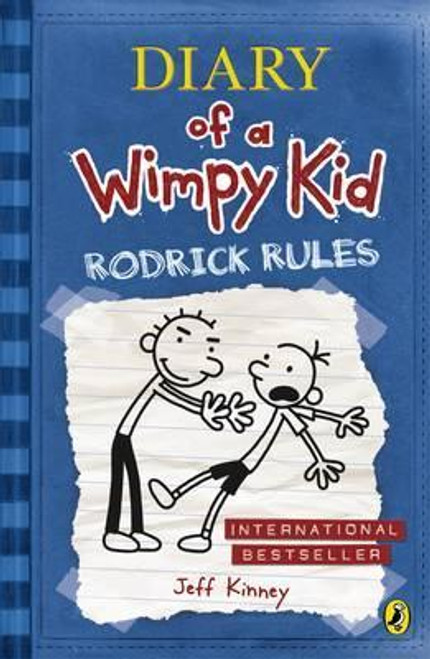 Kinney, Jeff - Rodrick Rules  ( Wimpy Kid - Book 2 ) - PB - BRAND NEW