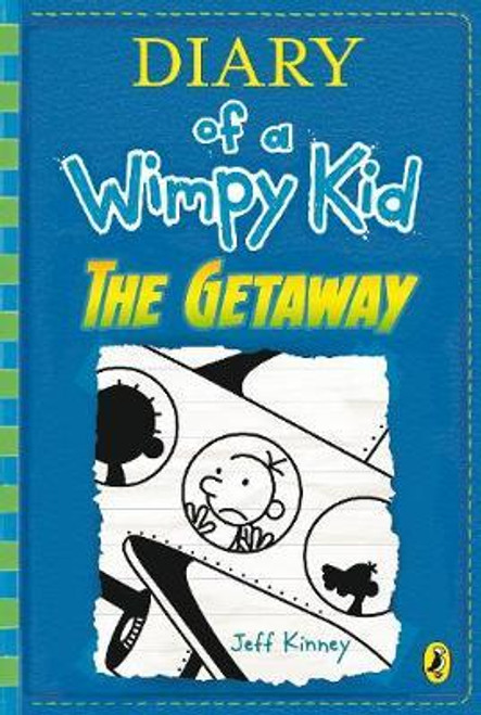 Kinney, Jeff - The Getaway ( Wimpy Kid, Book 12) - Hardback-  BRAND NEW