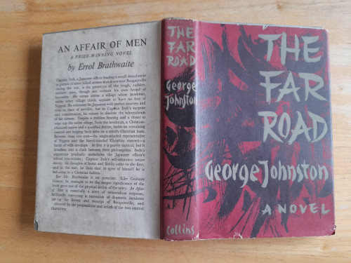 Johnston, George - The Far Road : A Novel - HB - 1962 - UK 1st Edition - China WW2