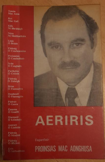 Mac Aonghusa, Prionsias - Aeriris - PB -Clochomhar, 1976 - As Gaeilge - Ex Libris