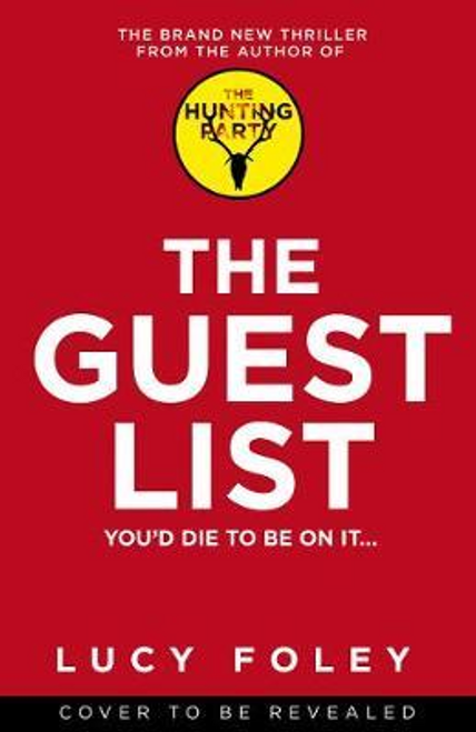 Foley, Lucy / The Guest List (Large Paperback)