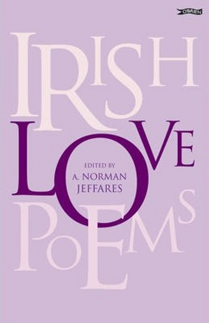 Jeffares, A. Norman / Irish Love Poems (Large Paperback)