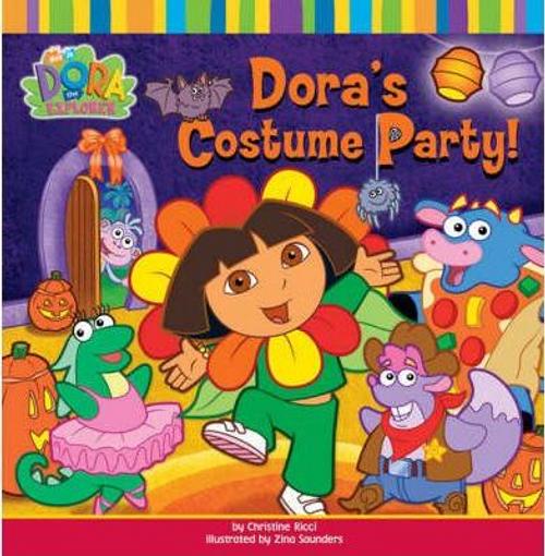 Dora the Explorer: Dora's Costume Party (Children's Picture Book)