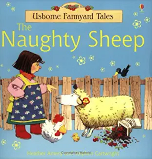 Amery, Heather / The Naughty Sheep (Children's Picture Book)