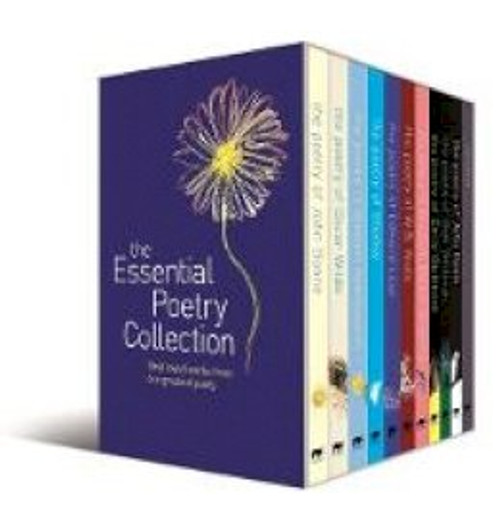 The Esential Poetry Collection -  Slipcased PB SET - 10 Poets - John Donne, Oscar Wilde, Elizabeth Browning, W.B Yeats, Emily Dickinson, Walt Whitman, William Wordsworth, Percy Shelley, Edward Lear , John Keats ( & Journal)